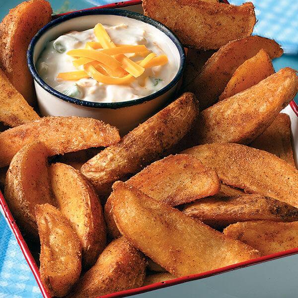 Baked Potato's wedges